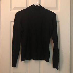Express mock turtleneck sweater size xs